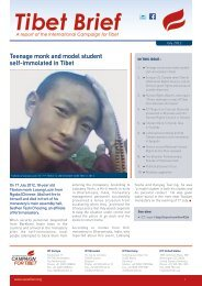 to download as - International Campaign for Tibet