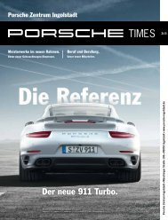 Der neue 911 Turbo. - Porsche Zentrum Ingolstadt