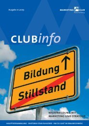 weiterbildung mit marketing und strategie - Marketing-Club ...