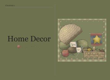 Home Decor - Priscilla's Crochet