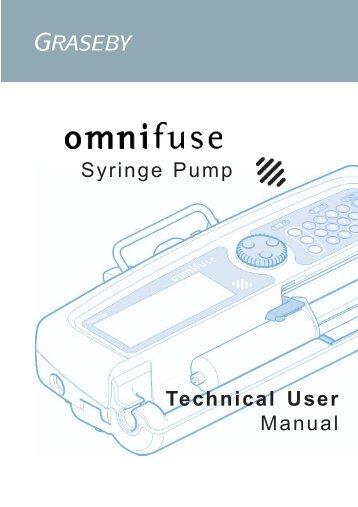 fresenius kabi syringe pump service manual