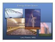 Energy-Water Nexus - Wind Powering America