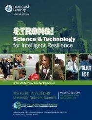 Science & Technology for Intelligent Resilience - Oak Ridge Institute ...