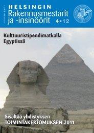 Yhdistyksen jäsenlehti 4/12, PDF tiedosto - Helsingin ...
