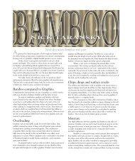 Issue #7 - NA Taransky Bamboo Rods