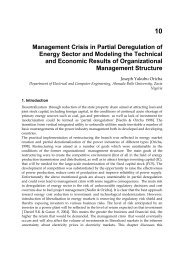 10 Management Crisis in Partial Deregulation of Energy Sector and ...