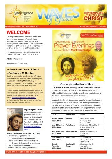 No 7 September 2012 edition - Archdiocese of Brisbane