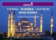 TURSKA • ISTANBUL • AVIONOM - Wayout