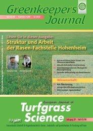 Struktur und Arbeit der Rasen-Fachstelle Hohenheim - Deutsche ...
