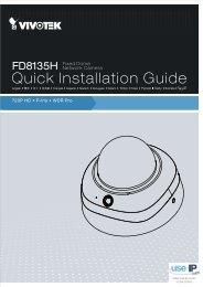 Vivotek FD8135H Installation Guide - Use-IP