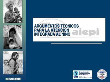 Argumentos Tecnicos Para La Antencion Integrada al Nino - basics