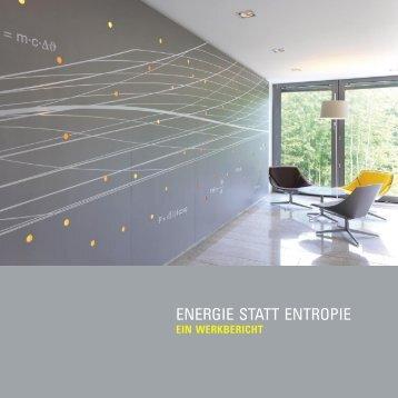 ENERGIE STATT ENTROPIE - Schöpf-Partner