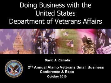United States Department of Veterans Affairs - Army Medical ...