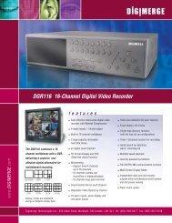 dgr116_specifications [1] - Digimerge