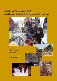 Gender & Pastoralism Vol 2: Livelihoods & Income ... - SOS Sahel