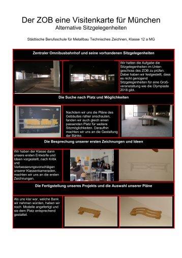 Alternative Sitzgelegenheiten - der Berufsschule für Metallbau und ...