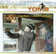Jegerkurs i undervisningen Jegerkurs i undervisningen - Tomb ...
