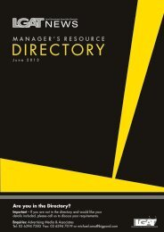 June 2013 - Managers Resource Directory - Local Government ...