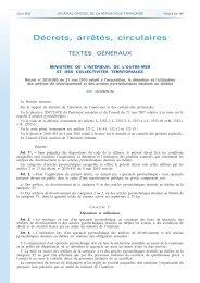 Décretn° 2010-580 du 31mai2010 relatif à l'acquisition, la détention ...