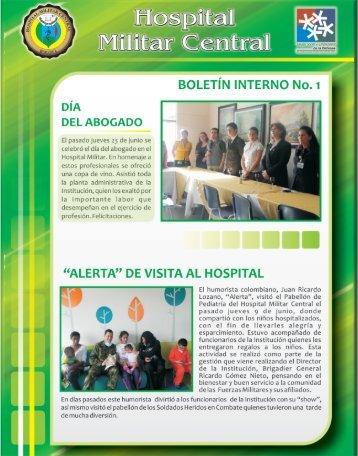 Boletin_interno_ No1_2011.pdf - Hospital Militar