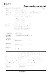 Samhällsbyggnadsnämndens protokoll 20130306 ... - Gnosjö kommun