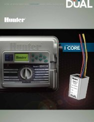 2-WIRE SYSTEM MADE FOR - Hunter Industries