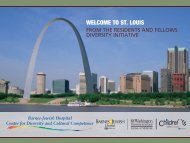 WELCOME TO ST. LOUIS - Mallinckrodt Institute of Radiology