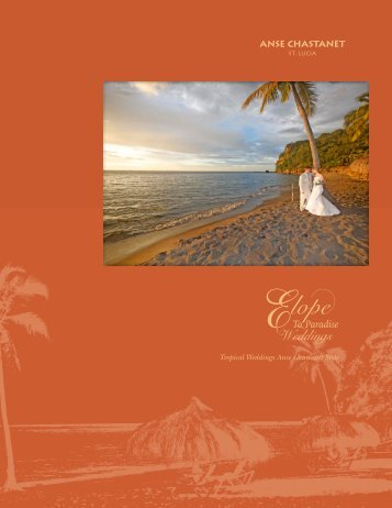 Elope To Paradise - Anse Chastanet Resort
