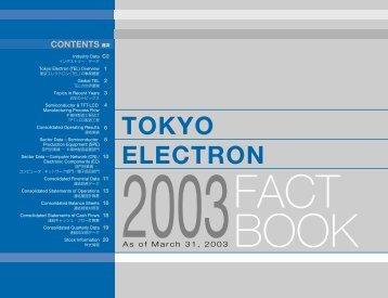 Tokyo Electron Limited (TEL)