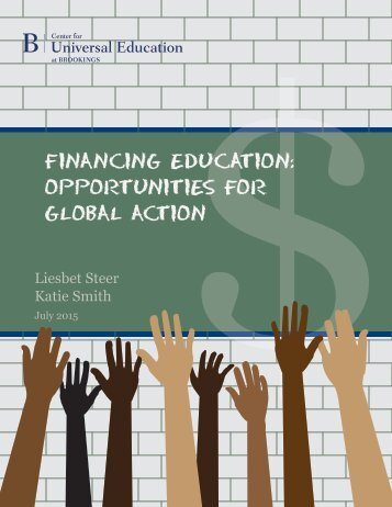 FinancingForEducation2015