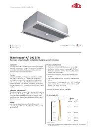 Thermozone® AR 300 E/W