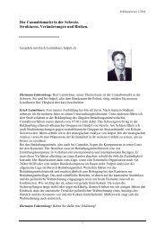Der Cannabismarkt in der Schweiz. Strukturen, Veränderungen und ...