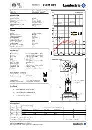 Datasheets DEC series - Landustrie