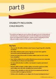 Inclusion Made Easy: Child Rights - CBM