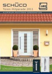 Aluminium-Haustüren-Sonderaktion