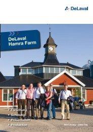 Informationen über die Hamra Farm - DeLaval