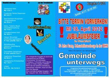Gemeinde unterwegs 4-2011 - Evangelische Schaustellerseelsorge