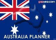 Australia Planner - Gapyear.com