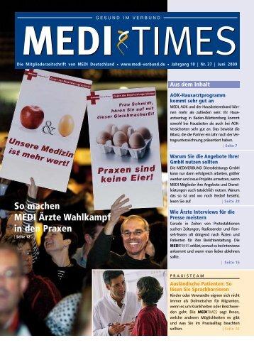 Terminblöcke - MEDI Deutschland