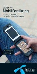 MobilForsikring - Telenor