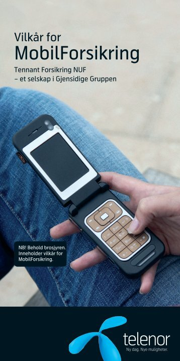 telenor mobil forsikring