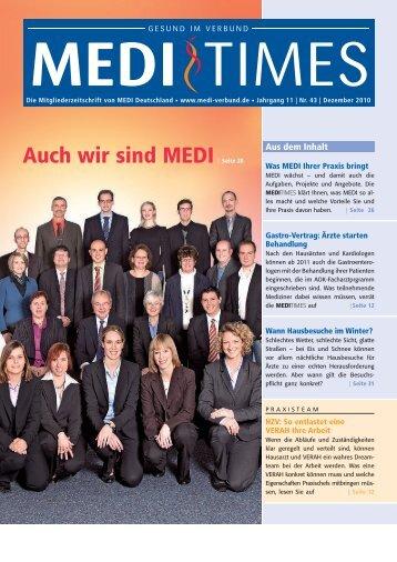 Eine gesunde Praxis... - MEDI Deutschland