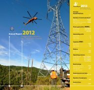 Annual Report 2012 Public Utility District No. 1 of Chelan County