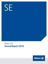 Allianz SE Annual Report 2010