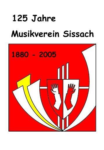 125 Jahre Musikverein Sissach
