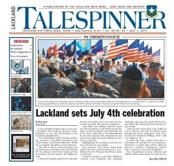 Lackland sets July 4th celebration - San Antonio News