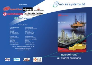 Air Starters - mb air systems ltd