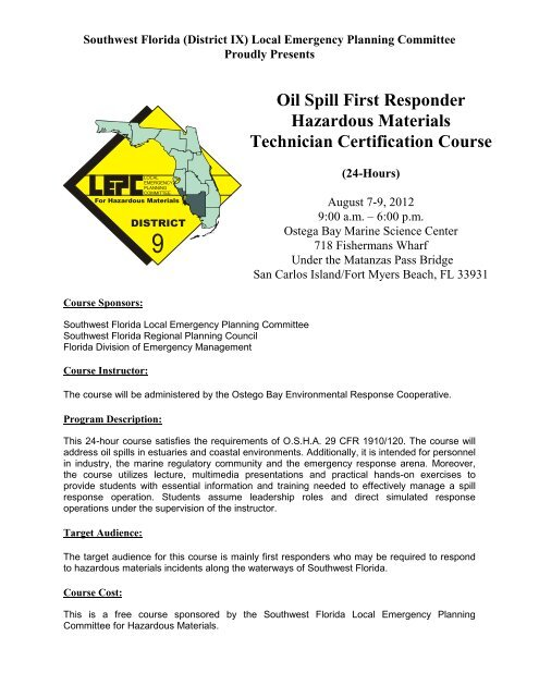 """Emergency Medical Response for Hazardous Materials Incidents"""