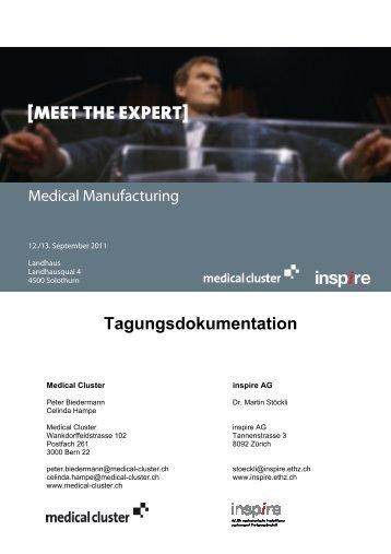[MEET THE EXPERT] - Medical Cluster