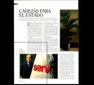 CABEZAS PARA EL ESTADO - Servir